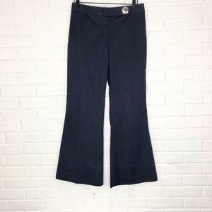 Tory Burch Pants - Tory Burch Wide Leg Flared Chino Pants Navy Blue M